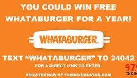Whataburger Contest (KBXX)