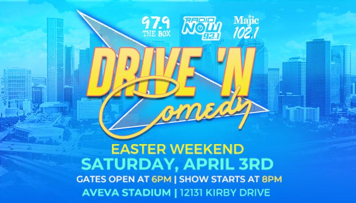 Drive 'N Comedy April