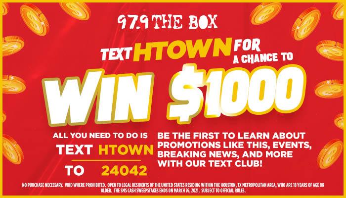 Cash Contest 2021 Houston