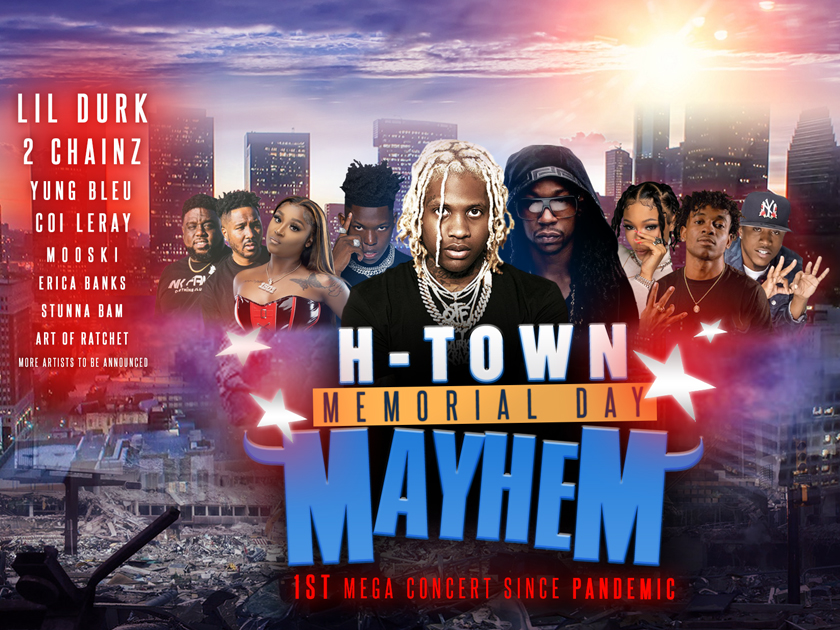 H-Town Memorial Day Mayhem Flyer