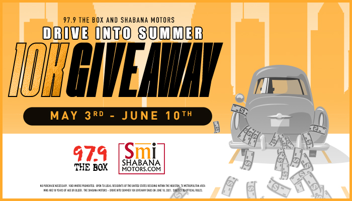 Shabana Drive Into Summer $10K Giveaway General Feature Graphic