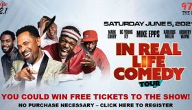 In Real Life Comedy Tour Contest