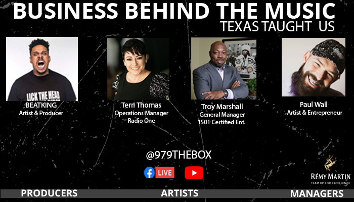 Business Behind The Music Texas Taught Us Graphic