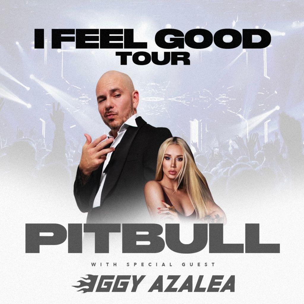 Pitbull & Iggy Azalea Feel Good Tour Image