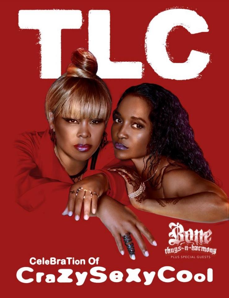 TLC Celebration of CrazySexyCool Flyer