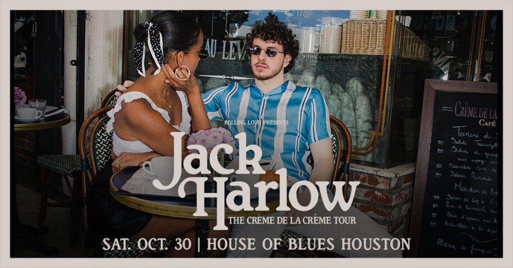 Jack Harlow - Créme De La Créme Tour