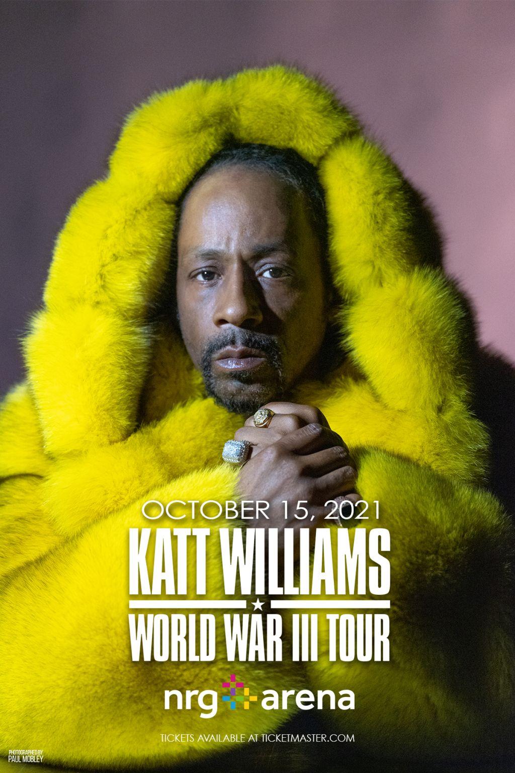 Katt Williams World War III Flyer - Houston