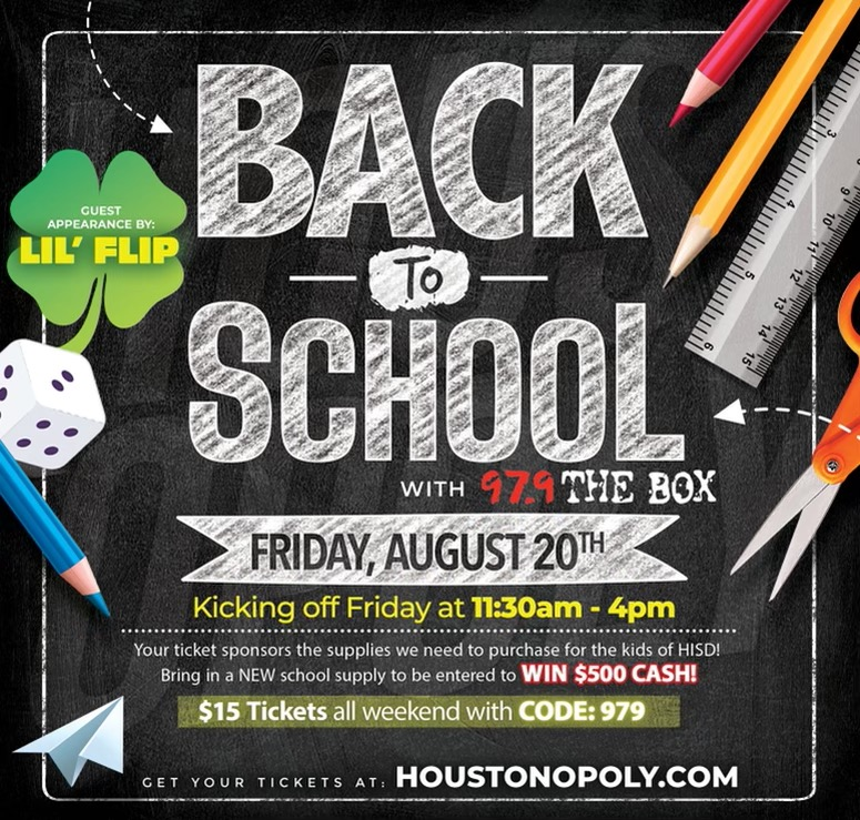 Lil Flip Back To School Event