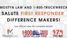 Mostyn Law Firm First Responder Difference Makers