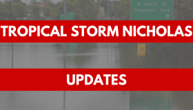 Tropical Storm Nicholas Graphic