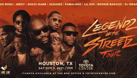 Legendz Of The Streetz Tour Flyer