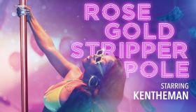 KenTheMan Rose Gold Stripper Pole