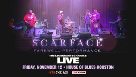 Scarface Farewell Performance